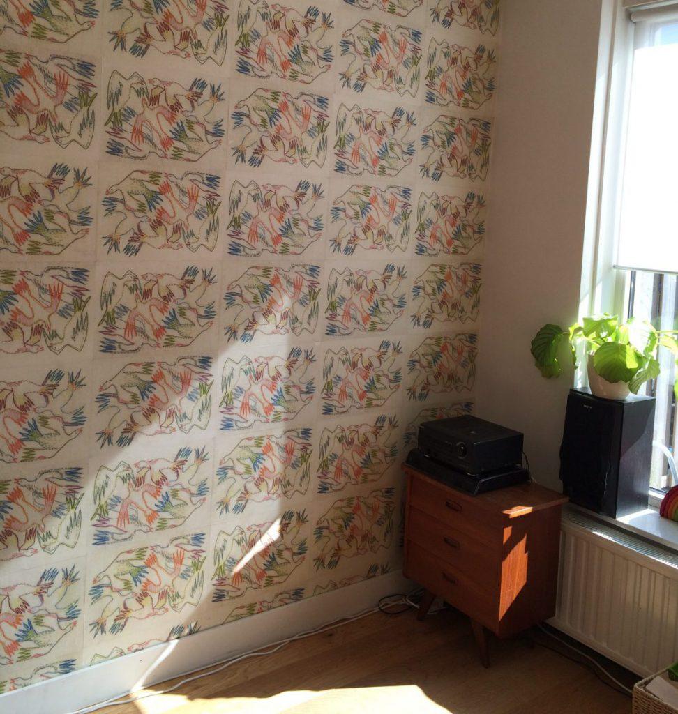 Behang ontwerp