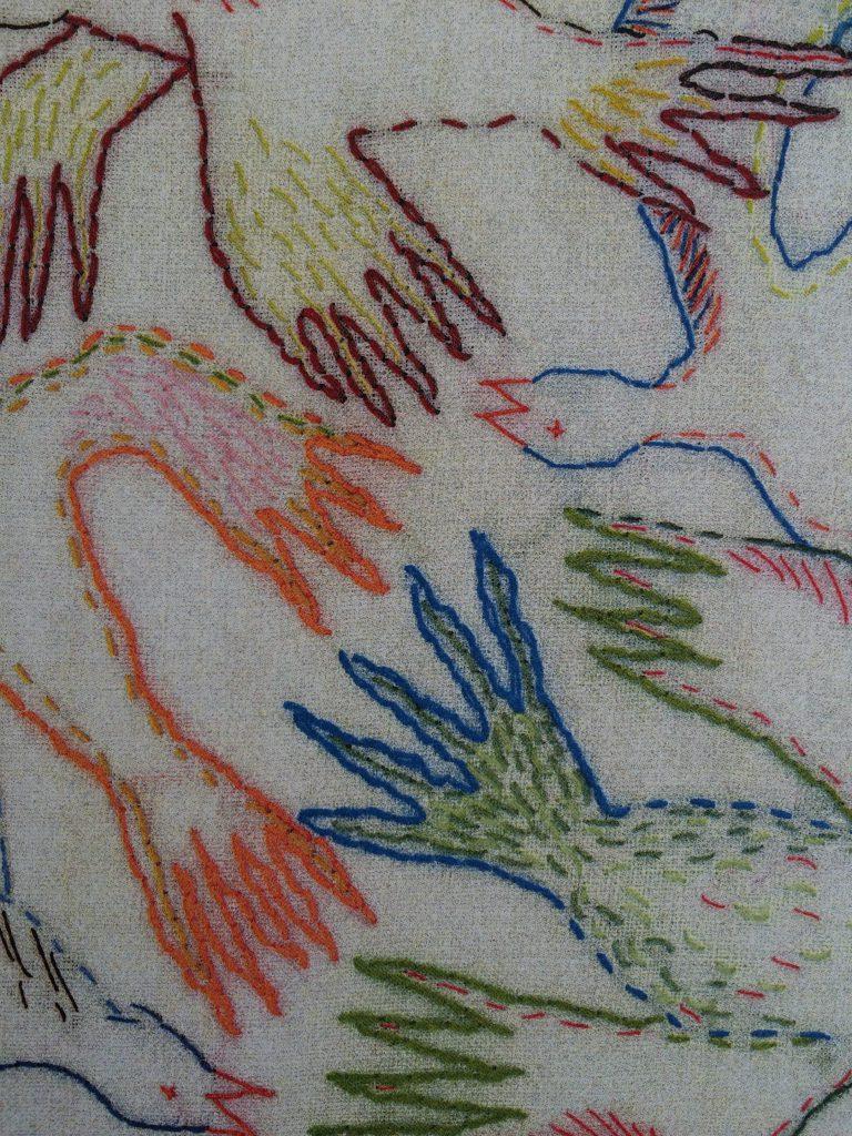 detail 2 vogelbehang
