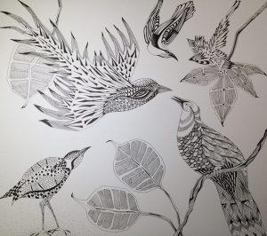 grafische vogels
