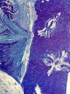 stencildruk detail