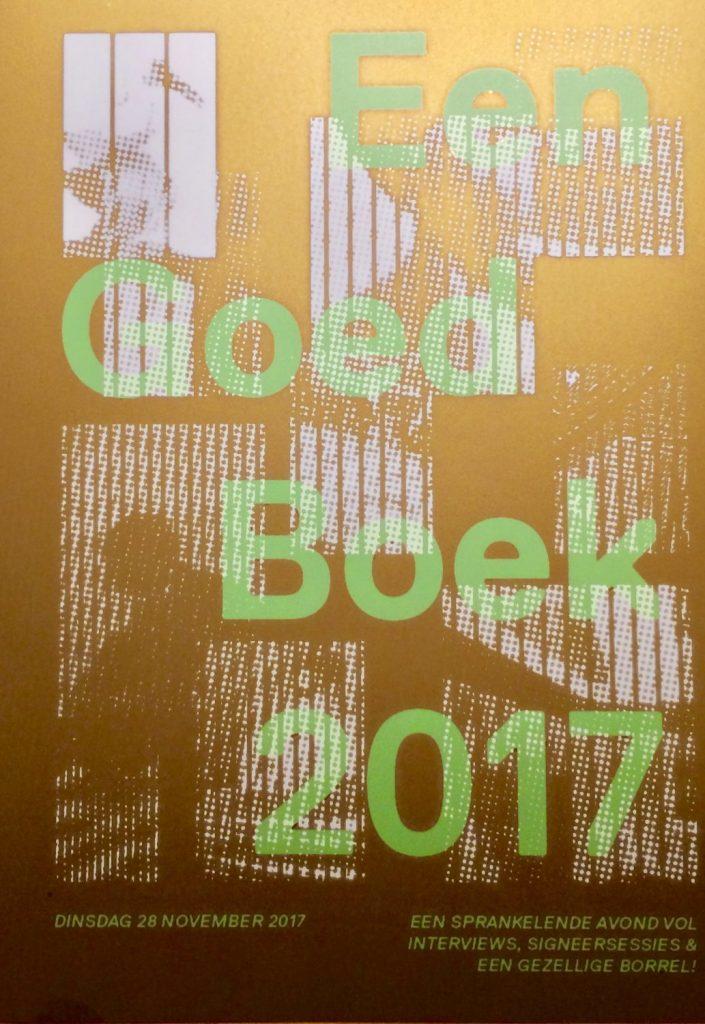 De avond van: EEN GOED BOEK 2017!